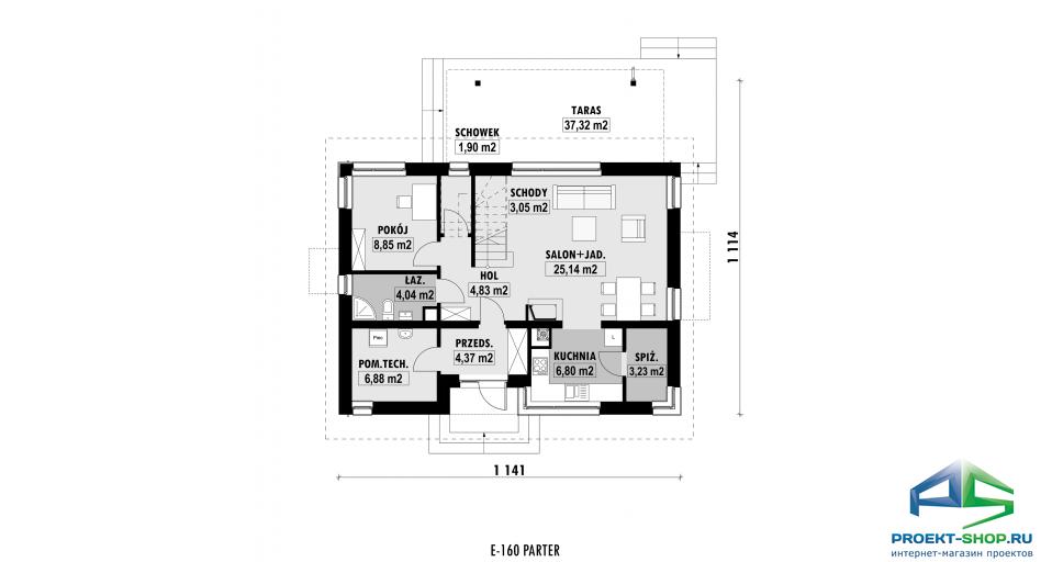 Планировка проекта E160
