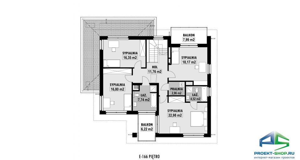 Планировка проекта E166