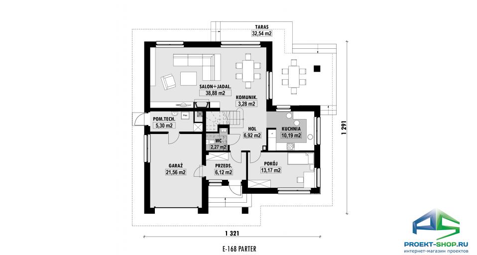 Планировка проекта E168