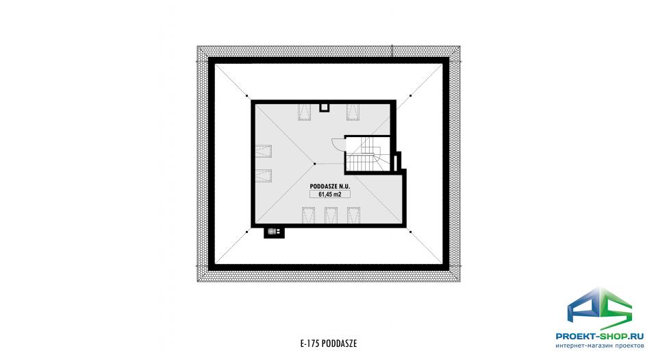 Планировка проекта E175