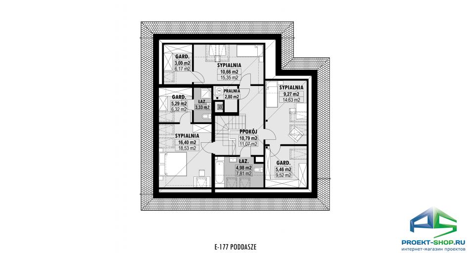 Планировка проекта E177