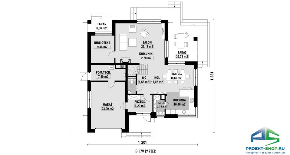 Планировка проекта E179