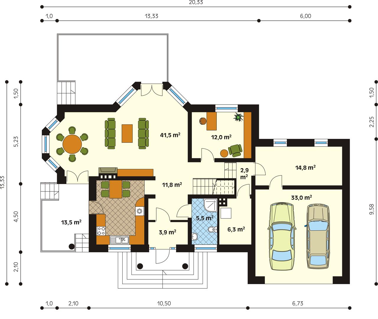 Планировка проекта 1-93