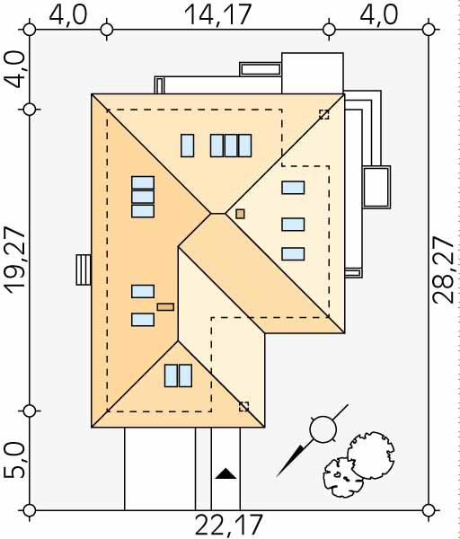 Планировка проекта 1-102
