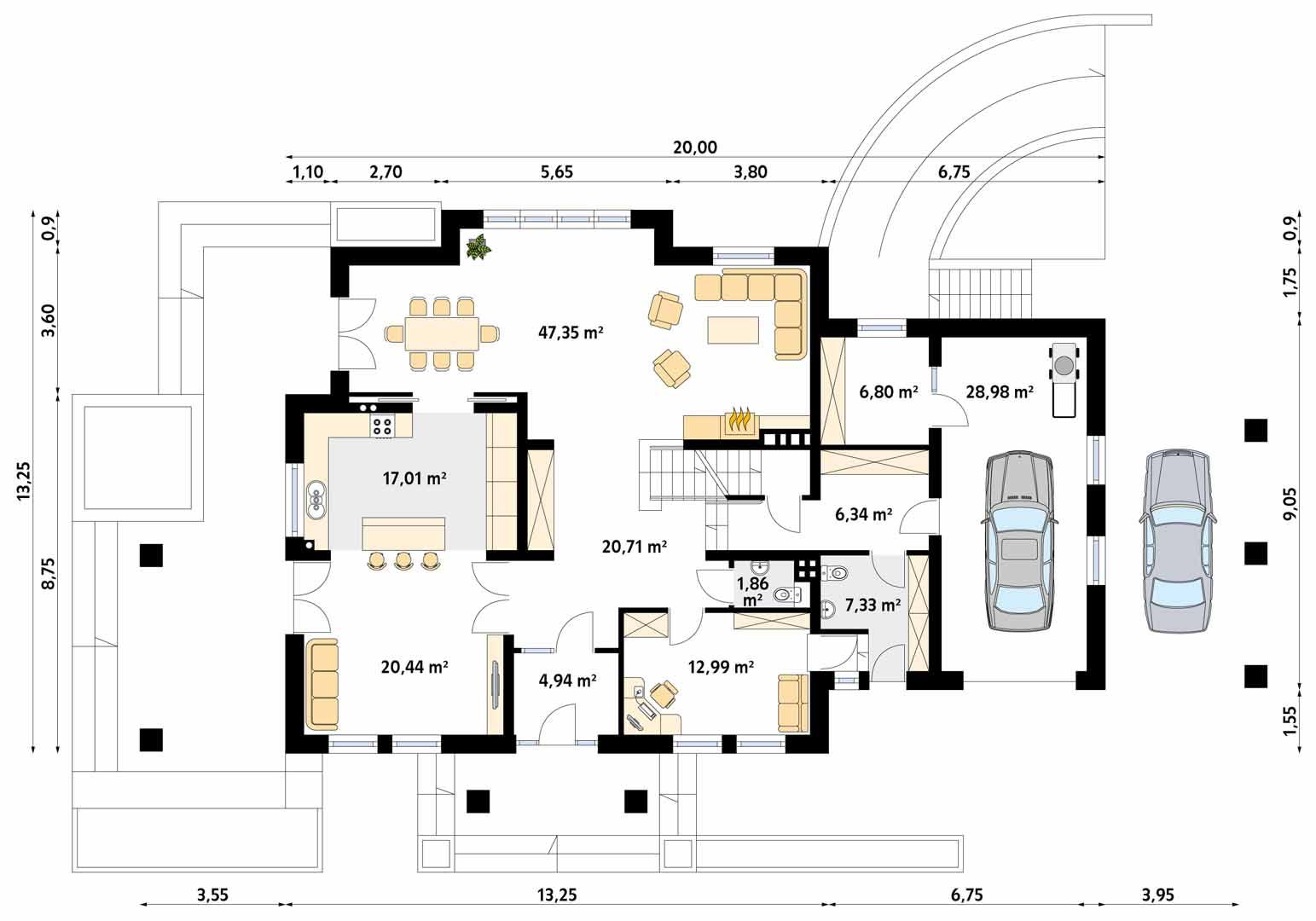 Планировка проекта 1-138