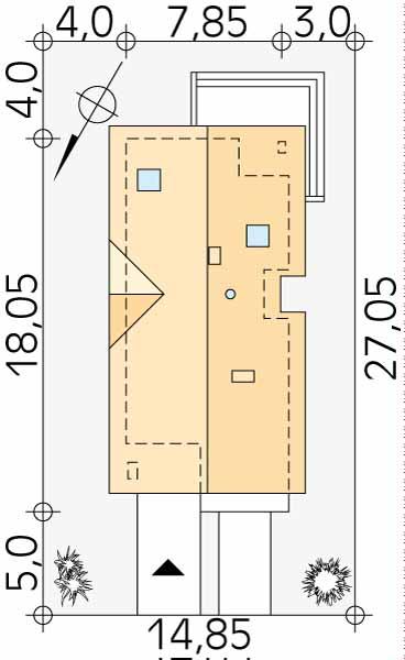 Планировка проекта 1-203