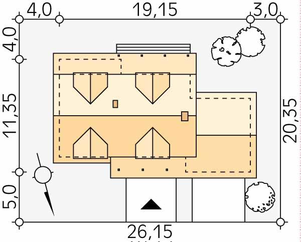 Планировка проекта 1-225