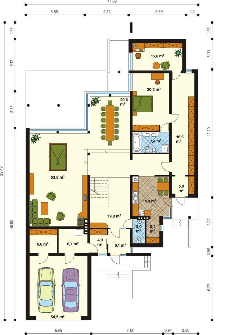 Планировка проекта 1-301