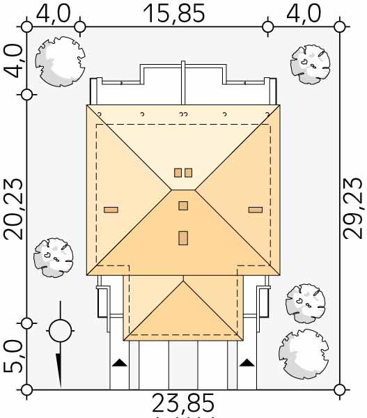 Планировка проекта 1-435