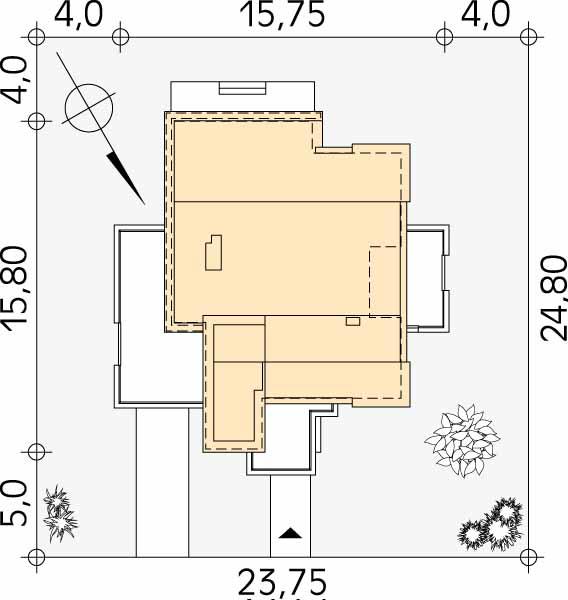 Планировка проекта 1-458