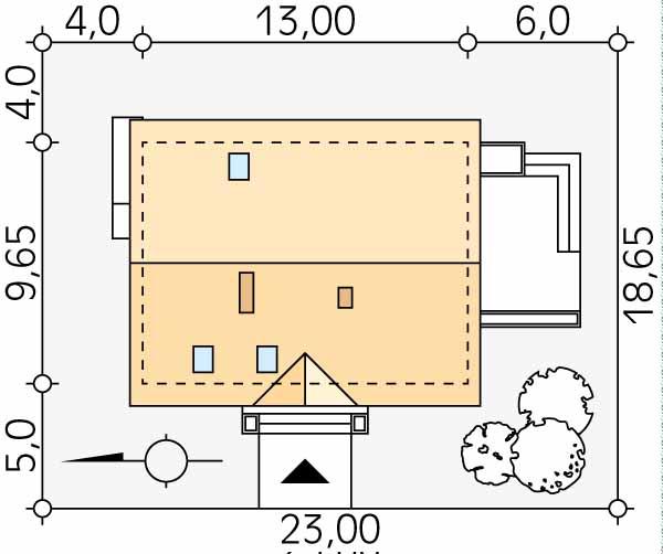 Планировка проекта 1-523