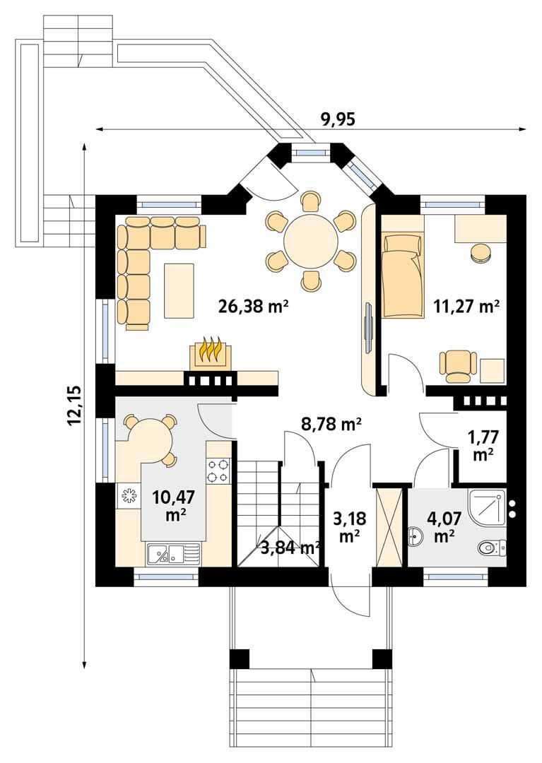 Планировка проекта 1-545