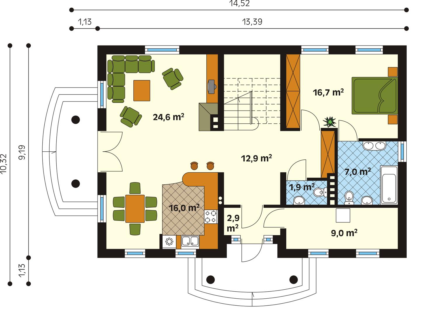 Планировка проекта 1-550