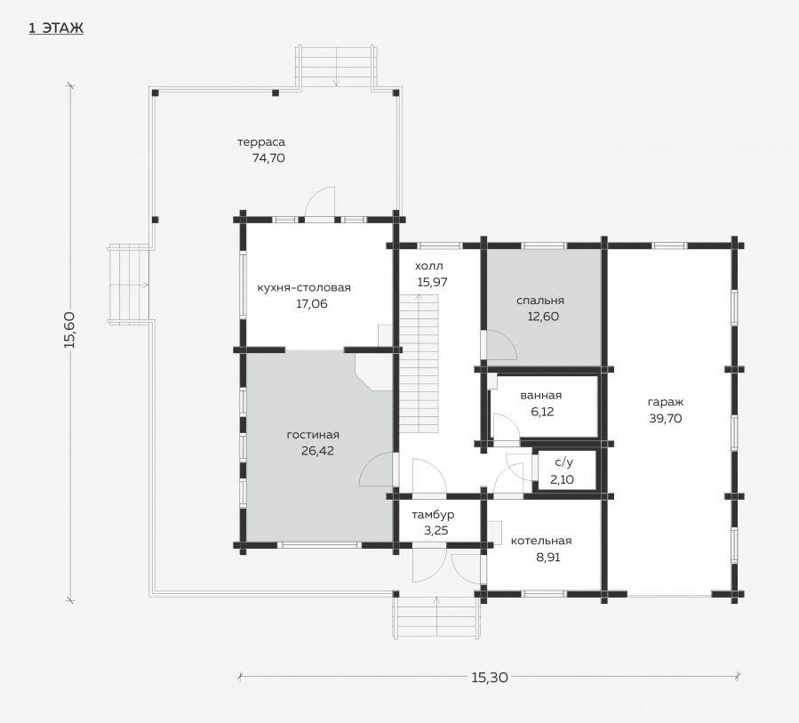 Планировка проекта 5-118