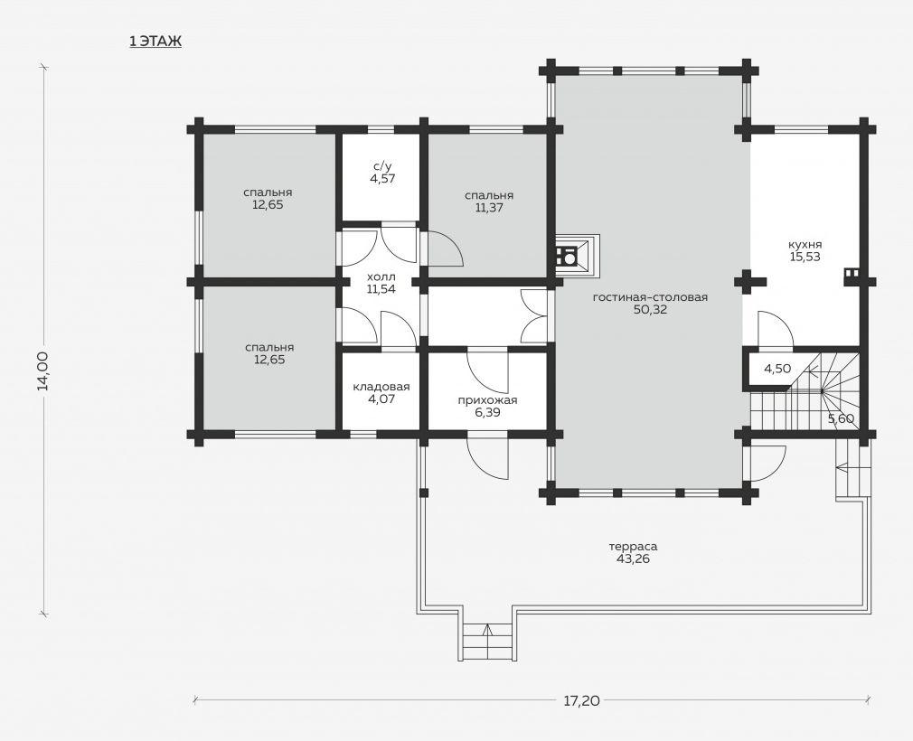 Планировка проекта 5-140