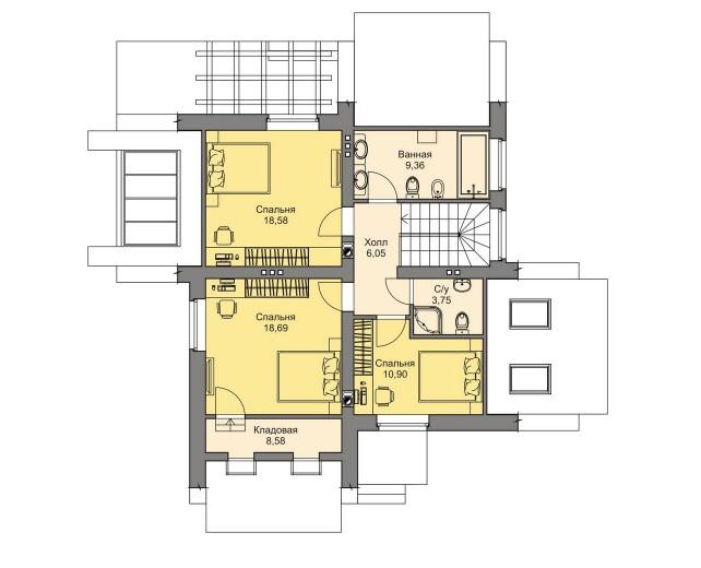 Планировка проекта 5-197