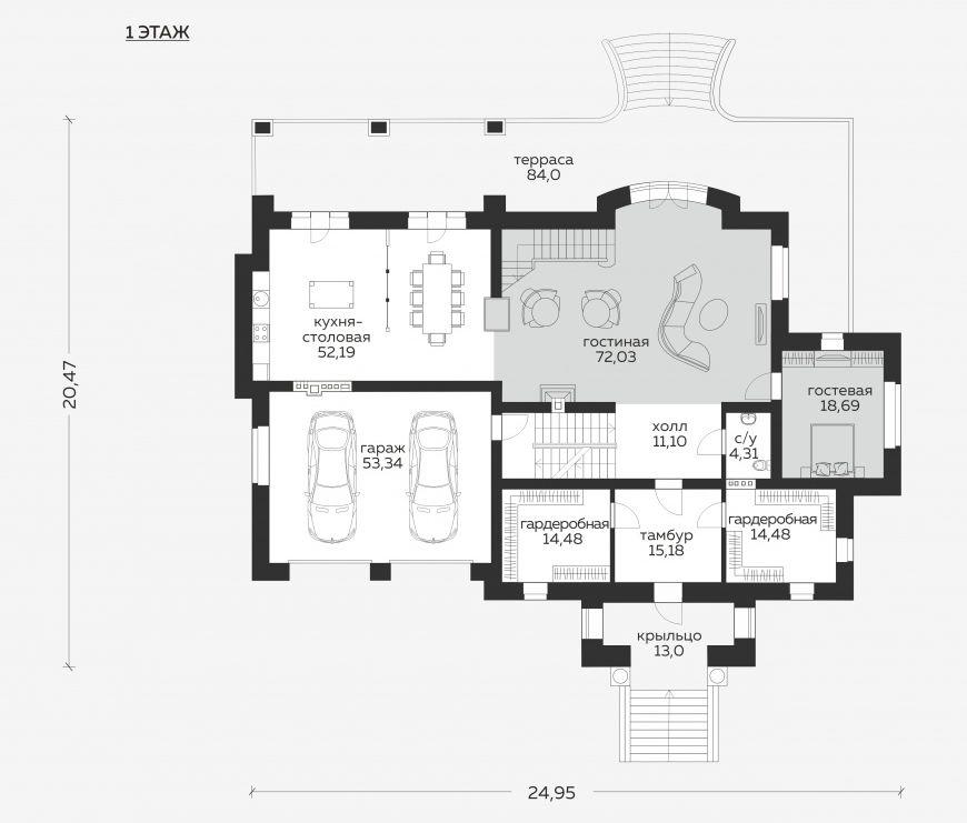 Планировка проекта 5-228