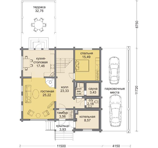 Планировка проекта 5-232