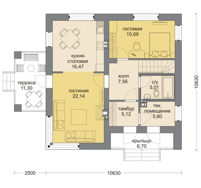 Планировка проекта 5-254