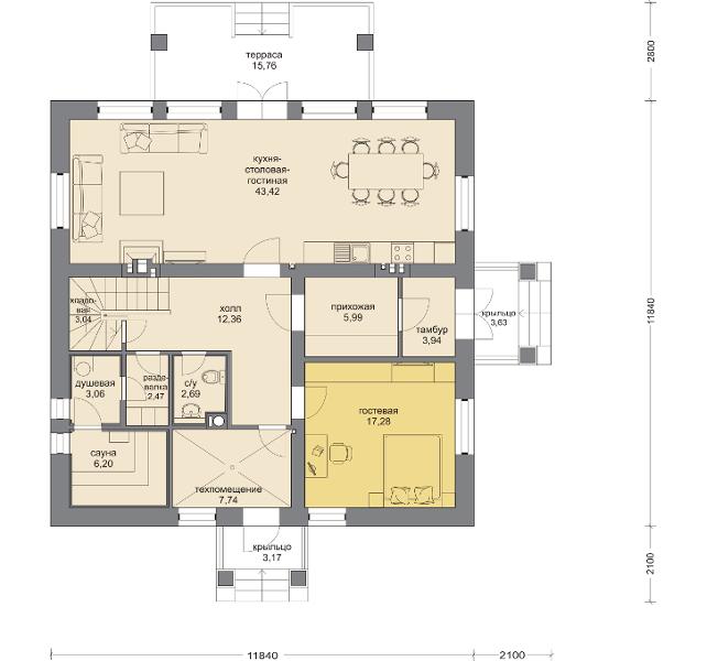 Планировка проекта 5-264