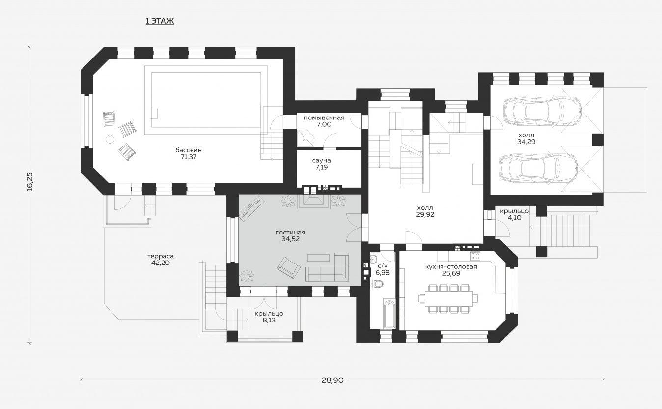 Планировка проекта 5-265