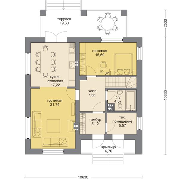 Планировка проекта 5-268