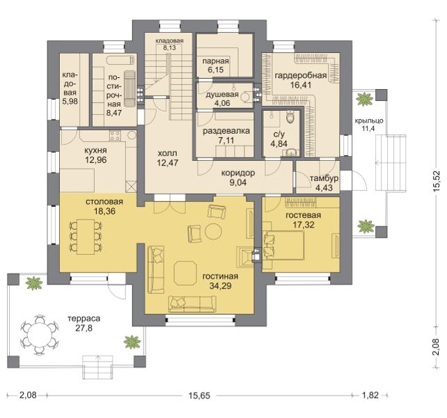 Планировка проекта 5-279