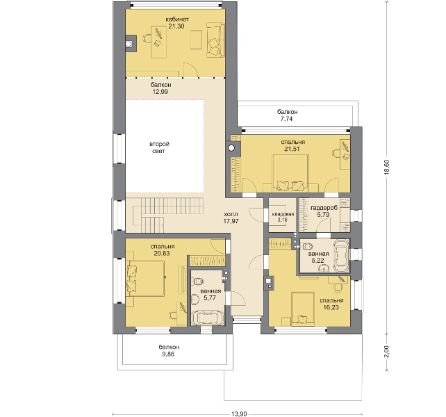 Планировка проекта 5-280