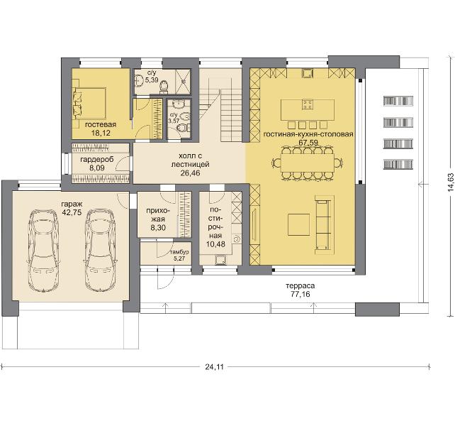 Планировка проекта 5-281