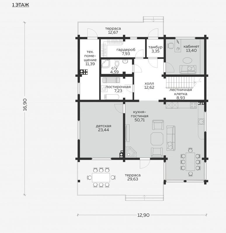Планировка проекта 5-291