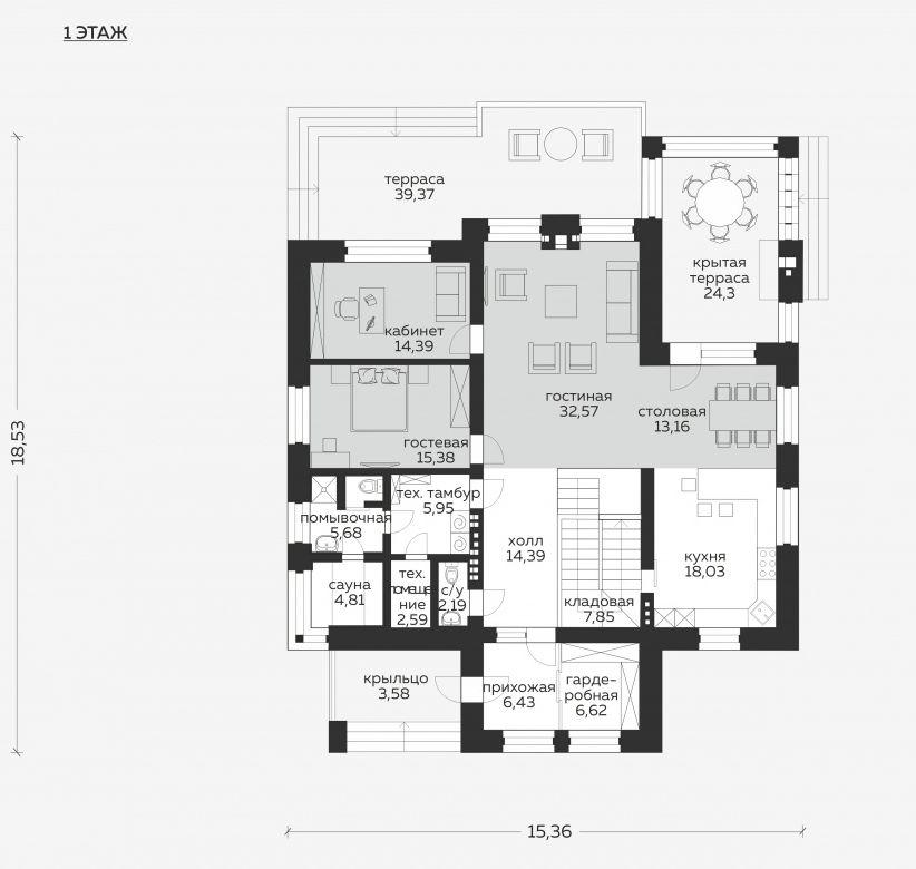 Планировка проекта 5-297
