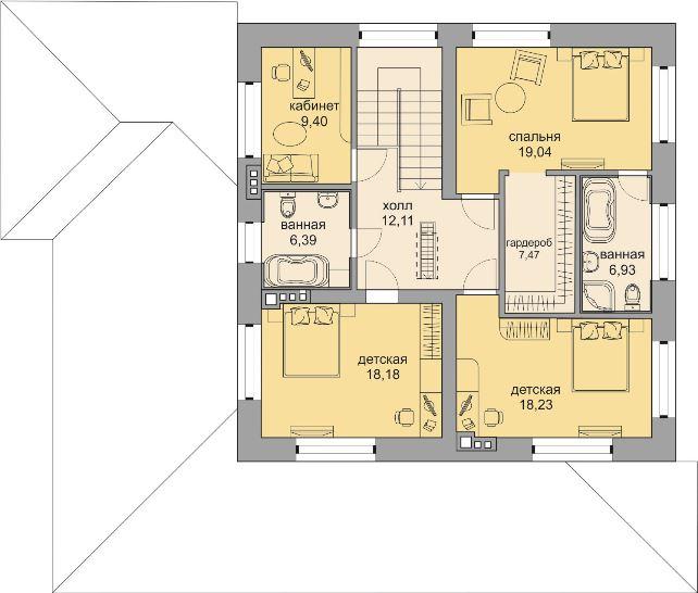 Планировка проекта 5-348