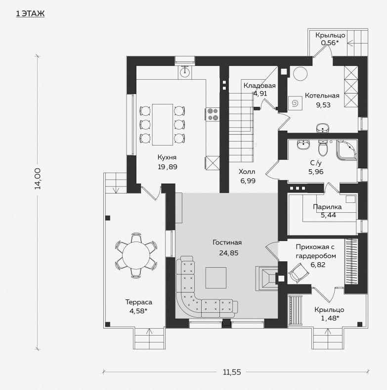 Планировка проекта 5-371