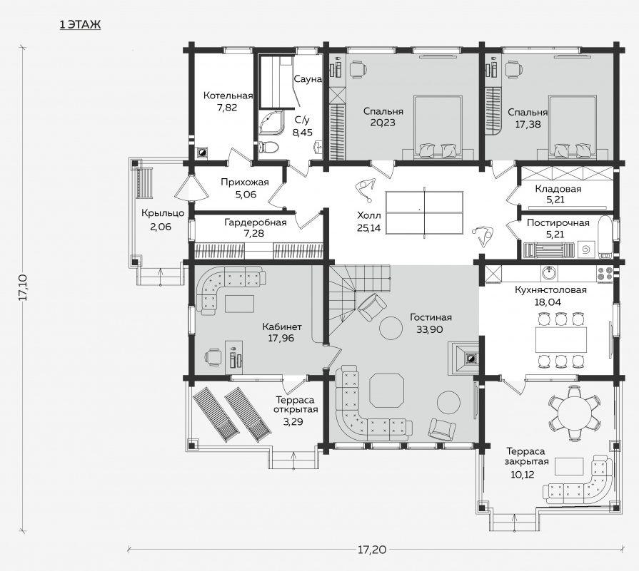 Планировка проекта 5-379