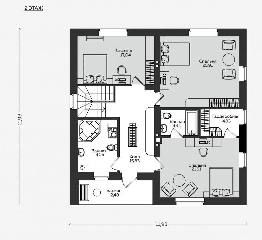 Планировка проекта 5-385