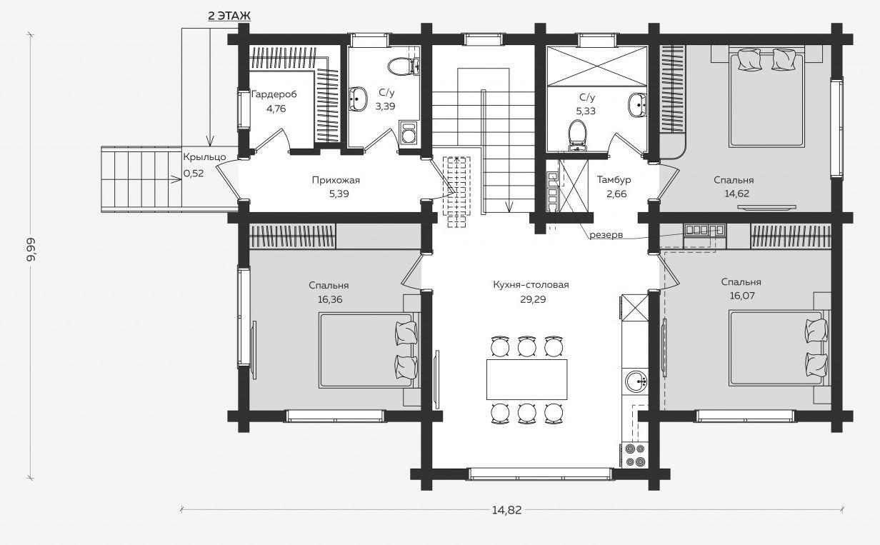 Планировка проекта 5-387