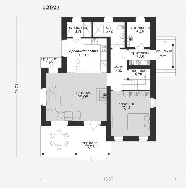 Планировка проекта 5-400