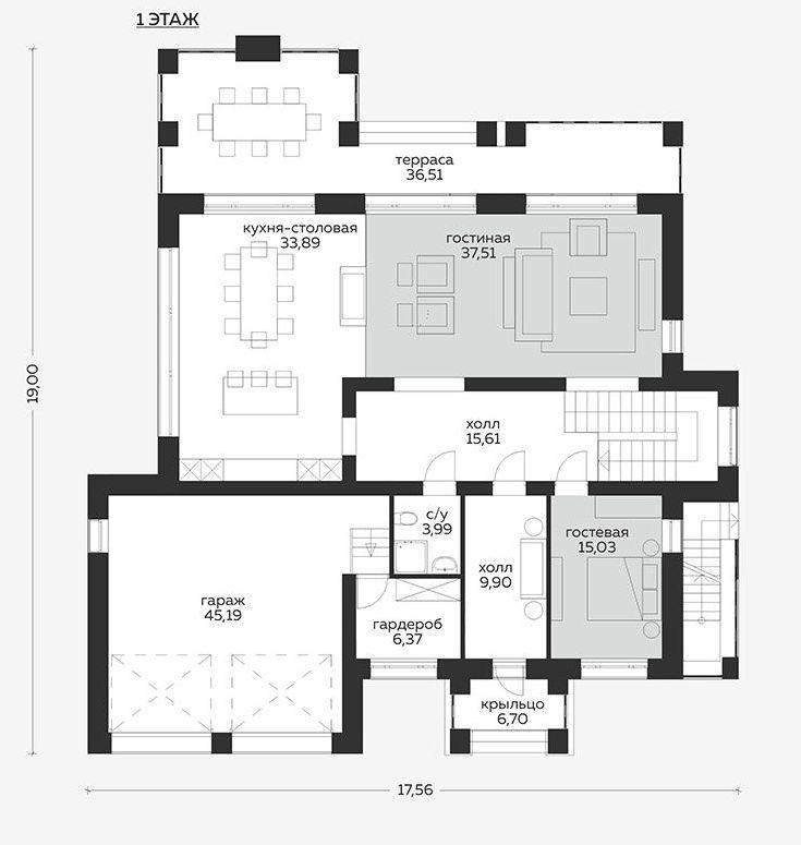 Планировка проекта 5-401