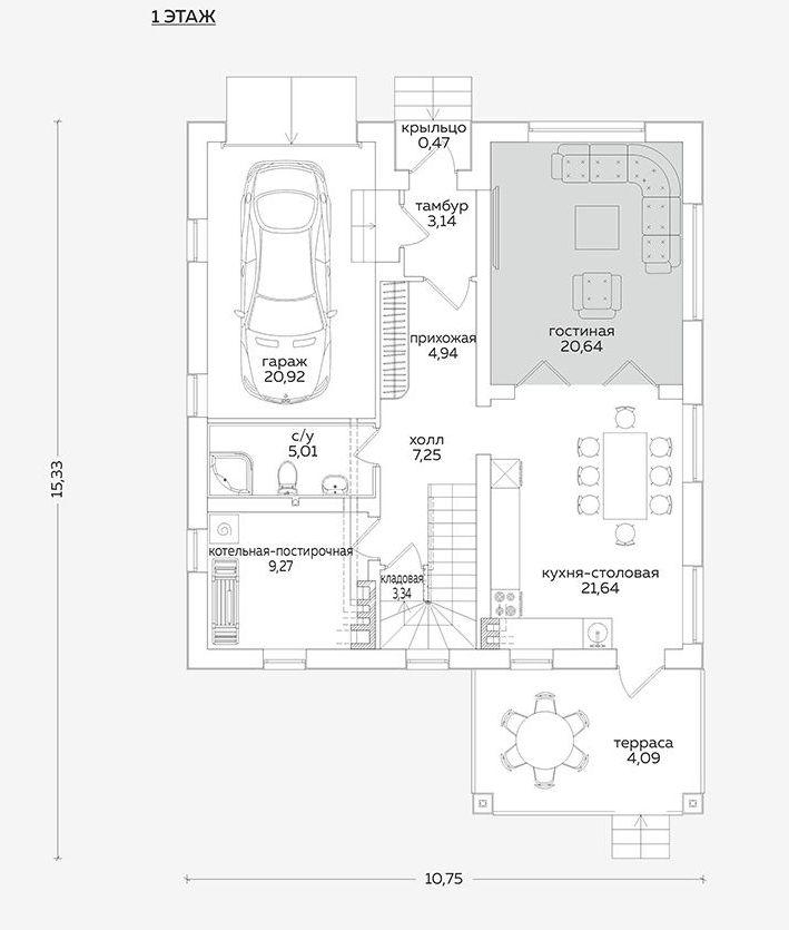 Планировка проекта 5-406