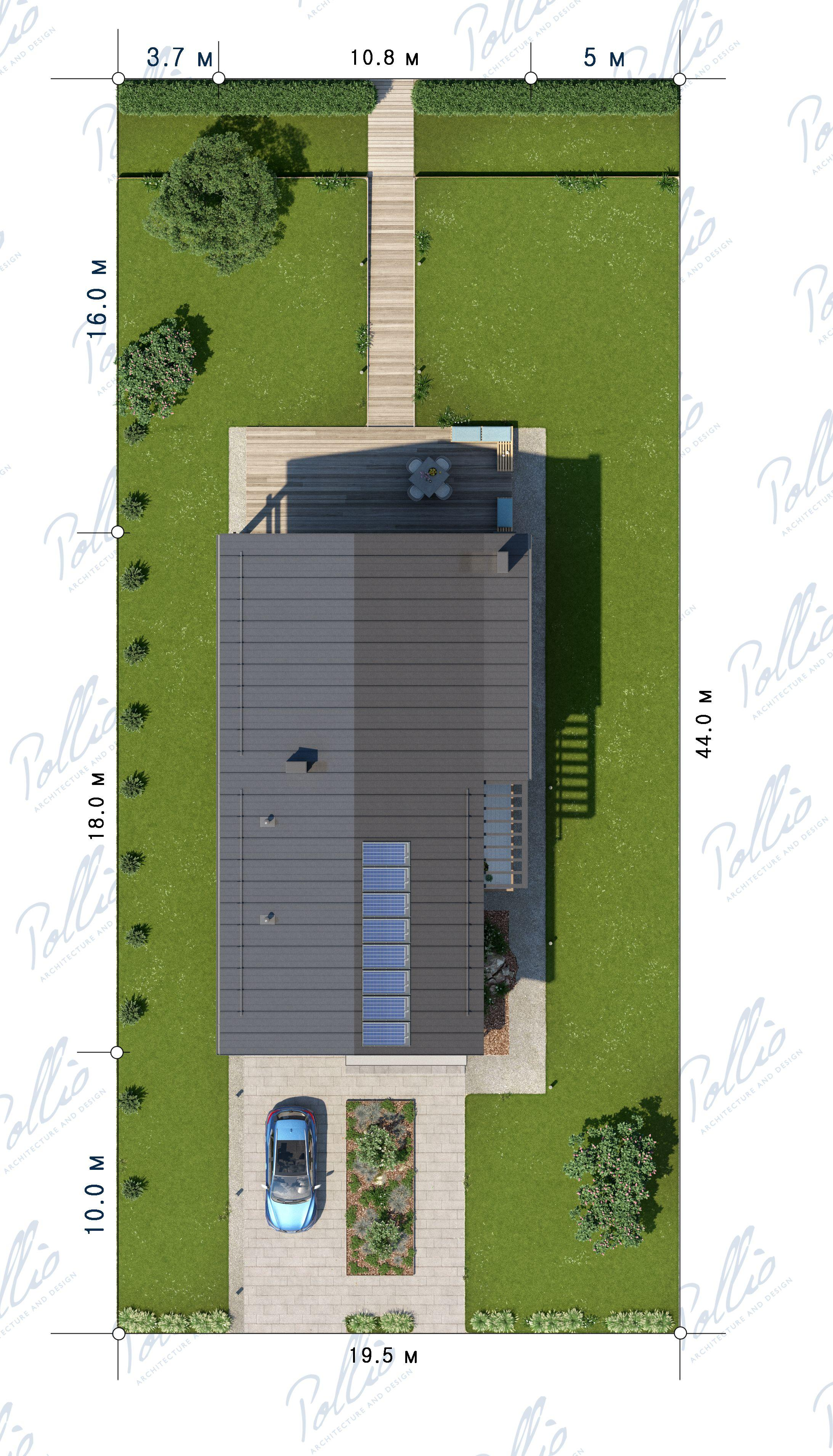 Планировка проекта X25