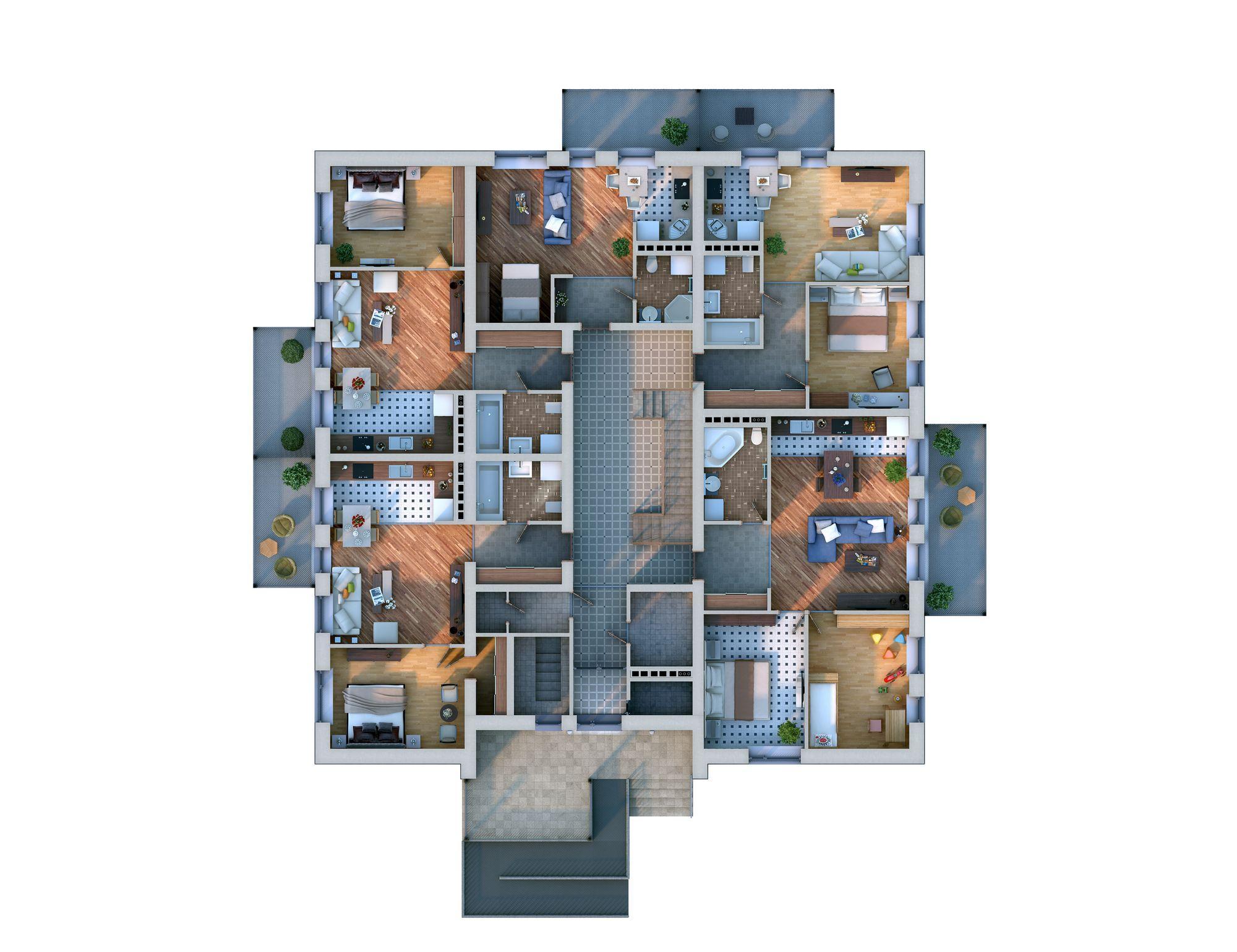 Планировка проекта Xb1