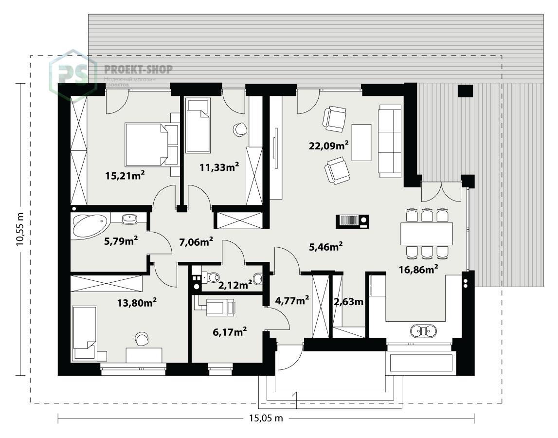 Планировка проекта 6-125