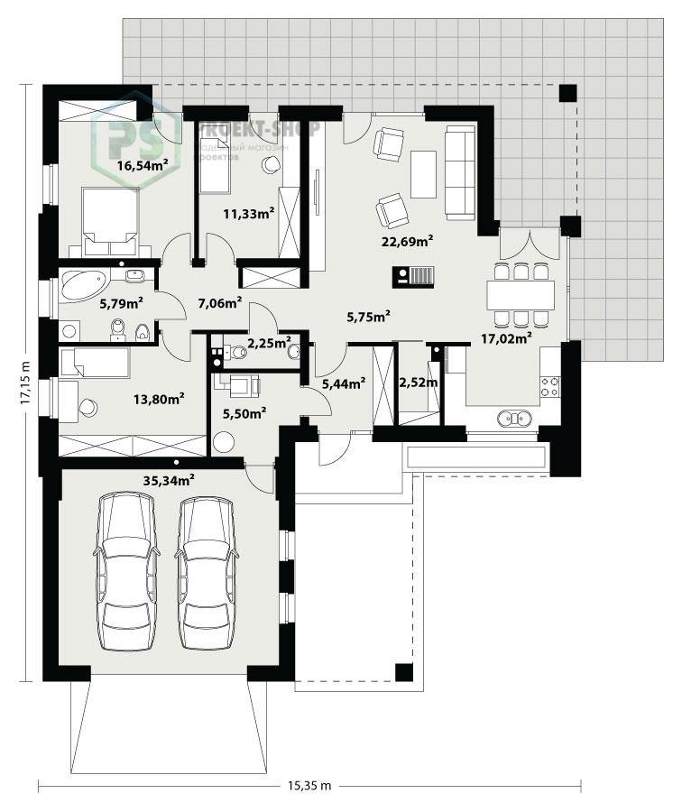 Планировка проекта 6-148