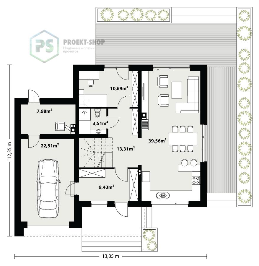 Планировка проекта 6-62
