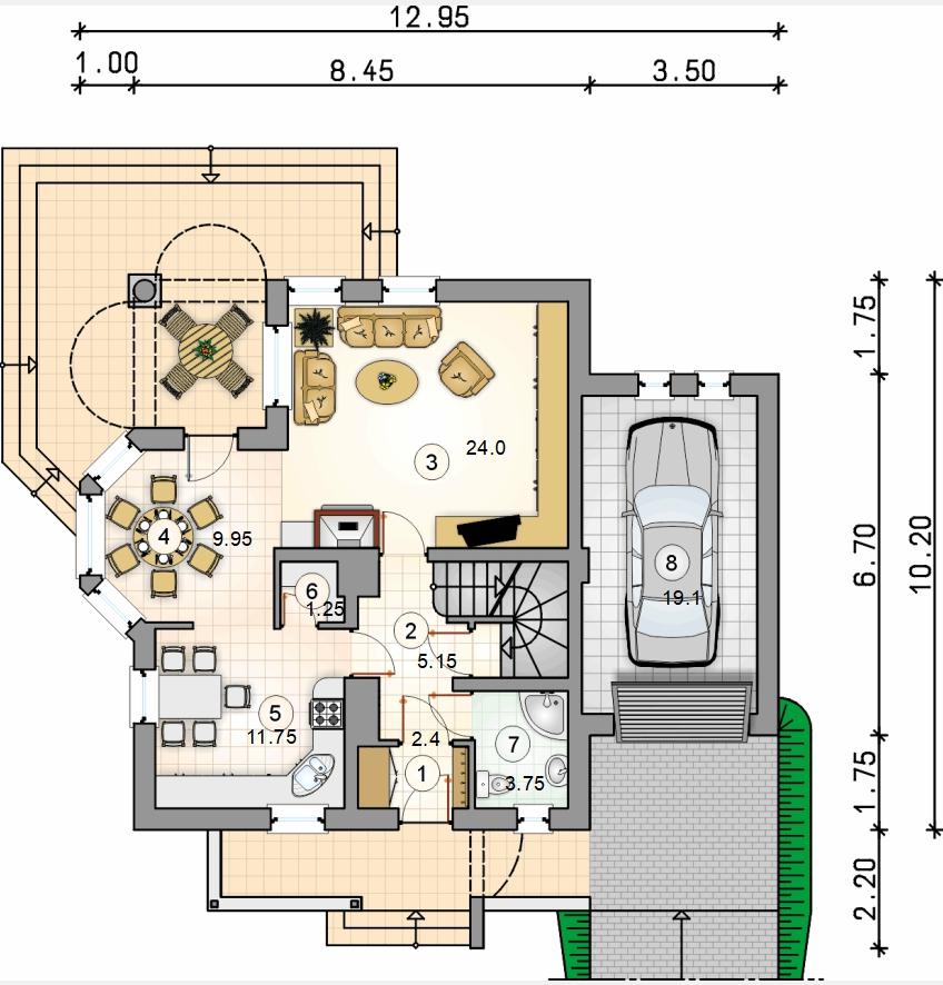 Планировка проекта D16