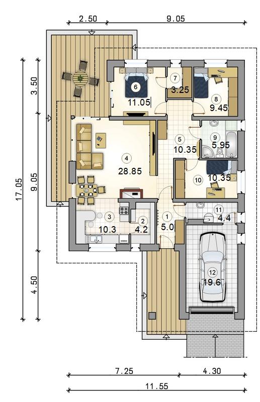 Планировка проекта D33