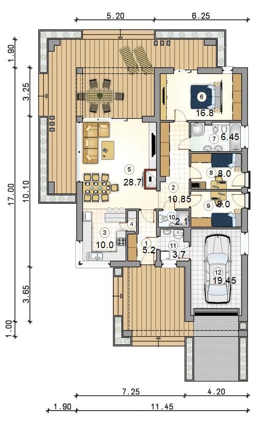 Планировка проекта D35