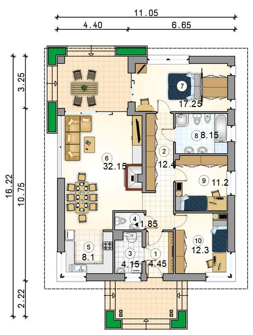 Планировка проекта D37