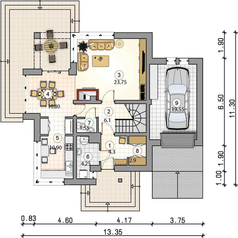 Планировка проекта 4-1057