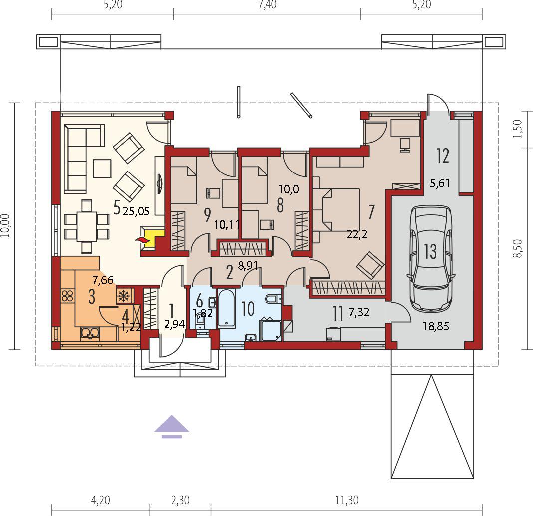 Планировка проекта 4-1101